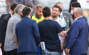 partido Brasil vs Argentina