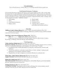 Lab Assistant Resume Inspiration Medical Laboratory Assistant Resumes Chemistry Lab Resume Samples