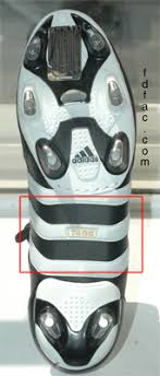 adidas 7406. and the overall width is slightly wider than most other soccer shoes has a removable sock line which will accommodate an orthotic if you need one. adidas 7406