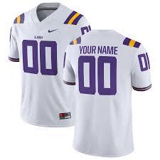 Men's Football Game Tigers Lsu White Custom Jersey Nike eacdcaeffefcc 2019 NFL Season Preview