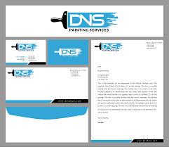 Dns Designs Modern Colorful Painting And Decorating Logo Design For