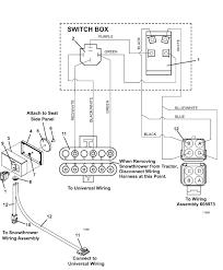 the mower shop inc electric lift control box and wiring diagram control box and wiring diagram