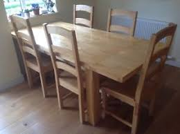 dining table and 8 chairs ebay. image is loading solid-light-rubber-wood-dining-table-and-8- dining table and 8 chairs ebay