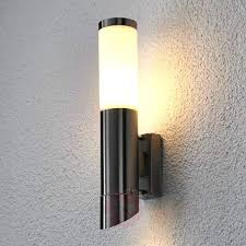 stainless steel outdoor wall lights lovely stainless steel outside wall lights on outdoor wall lights b q