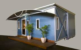 Small Picture ViVood A Prefab Tiny House Powered By Solar Panels Prefabricated
