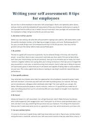 Assessment Example writing your self assessment sample – hardimplosion