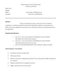 Plain Text Resume Template Best Format For A Resume Plain Text Format Resume Text Resume Sample