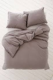 magical thinking pom fringe duvet cover urban outers