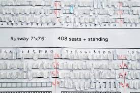 Love Show Seating Chart Love This Photo Of How A New York Fashion Week Seating Chart