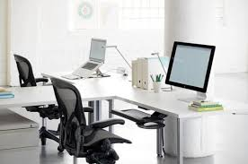 office desk for two people. Related: T Shaped Desk Two-Person Home Office For Two People L