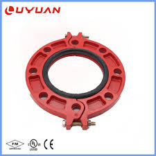 <b>China</b> Cast Iron Grooved Pipe Flange - <b>China</b> Grooved Coupling ...