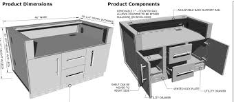 Kick Plates For Cabinets 46 Outdoor Cabinet For Built In Grills Affordable Outdoor Kitchens
