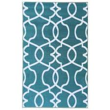rose collection contemporary geometric trellis design ocean green 5 ft x 7 ft non