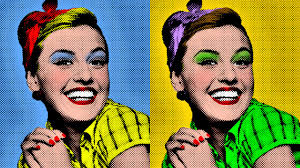 photo tutorial how to make a warhol style pop art portrait from a photo you
