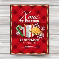 Christmas Backgrounds For Flyers Christmas Flyer Free Vector Art 1 939 Free Downloads