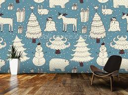 All About Christmas Wall Mural
