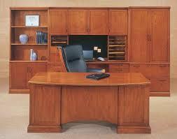 wood home office. Cherry Wood Home Office Desk Dark