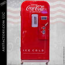 Vendo Vending Machine Best Vintage CocaCola Vendo F48 Rare Coke Vending Machine