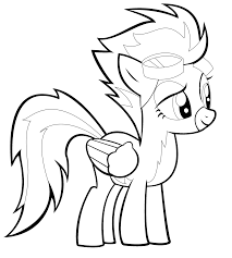 Small Picture surprising my little pony spitfire coloring pages with fluttershy