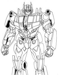 Small Picture Optimus Prime Coloring Pages Throughout Transformers Prime