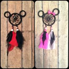 Dream Catchers For Your Car Mickey and Minnie Mouse Dreamcatcher car charm Mickey Mouse 33