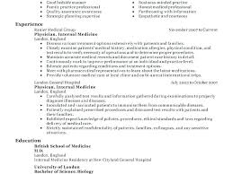 Sample Doctor Resume Doctor Resume Format Doctor Resume Example Download Physician Resume