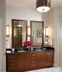 traditional bathroom vanity design in rich color
