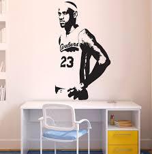 basketball star cleveland cavaliers lebron james basketball wall