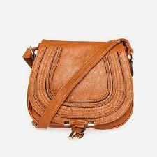 madewell handbags dailylook classic vegan leather saddlebag purse