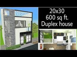 20x30 sq ft dulpex beautiful house l