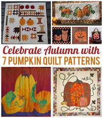 Celebrate Autumn With 7 Pumpkin Quilt Patterns &  Adamdwight.com