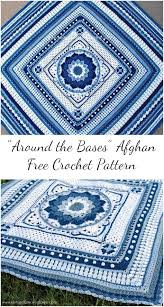 Crochet Patterns New Around the Bases Afghan [Free Crochet Pattern]