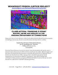 the retired diary of a prison abolitionist  class action parsons v ryan medical neglect and suicide at the az doc