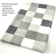 striped bath rug link below this image for more details black and white striped bath