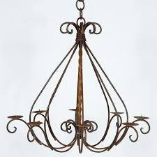 votive candle chandelier any feature wrought iron wrought iron votive candle chandelier