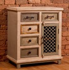 LaRose Five (5) Drawer / One (1) Door Cabinet with Chicken Wire - Hillsdale  Furniture 5732-886 (Shipping Included)