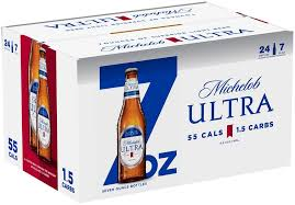 new york today michelob ultra the fastest growing beer brand in the u s unveiled 7 oz bottles bringing consumers the superior refreshing taste