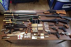 It hurts painfully when hitting the human body and can blind if it hits your eyes. Police Find Huge Weapons Arsenal Near Boro Park Hamodia Com
