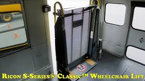 ricon s series® classic wheelchair lift manual operations ricon s series® classic wheelchair lift manual operations