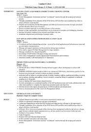 Sap Lead Resume Samples Velvet Jobs