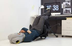 office sleeping pillow. studio banana things ostrich pillow travel designer sleeping in the office