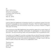 Cover Letter For Graduate School Amazing Excellent Cover Letter Examples 48 Inviletterco