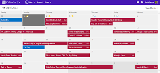 Schedule Calender Take Control Of Your Schedule With A Modern Calendar