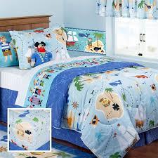 twin sheet set $65, twin comforter $90. Blue Pirate Bedding for Boys Twin  Full