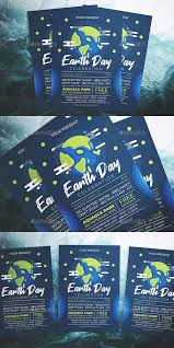Earth Day Party Flyer Template Psd Ai Flyer Templates