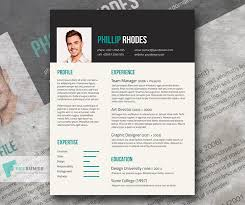Free Modern Resume Templates Magnificent Free Modern Resume Template Turquoise On Dark Grey Freesumes