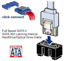 esata sata power sata cables low prices on all internal and new black ultra thin 30awg latching sata ii internal cables click here