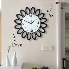 Modern Minimalist Wooden Wall Clock Living Room Bedroom Decorate Wall Clock