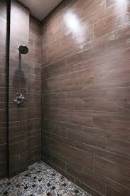Briarwood Bathroom Cabinets Briarwood Mocha Faux Wood Shower Tile By The Tile Shop Bath