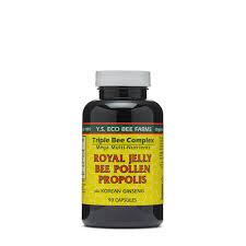 Y.S. ORGANIC BEE FARMS Royal Jelly Bee Pollen Propolis | GNC